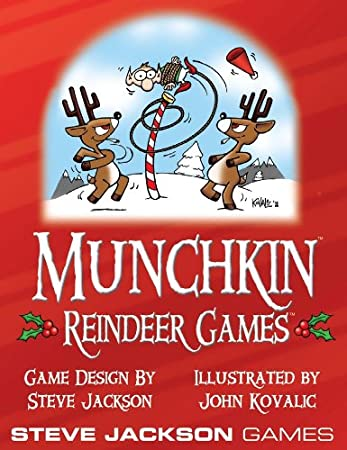 Amazon.com: Munchkin Reindeer Games Booster: Toys & Games