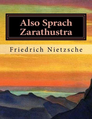 Also Sprach Zarathustra  [Nietzsche, Friedrich Wilhelm] (Tapa Blanda)