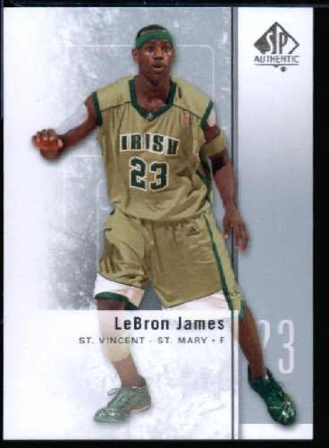 separation shoes 94fa6 0221c 2011/12 Upper Deck SP Authentic#2 LeBron James Fighting ...
