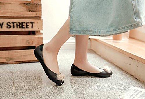 pour Plates FAFZ Cristal Sandales Creuses Chaussures Femmes Femmes nbsp; antidérapantes pour Sandales Chaussures Transparentes en Sandales A Mode Sandales Chaussons en Chaussures Gelée Plates de 707wqr5x