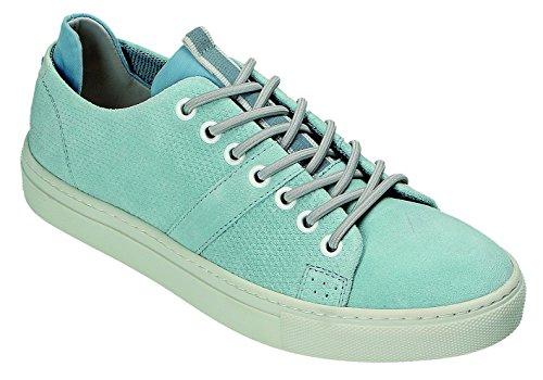 Klondike Zapatos Mujer azul Claro Cordones claro Azul Azul de Para R7r1qRw