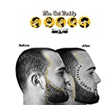 The Cut Buddy As Seen On Shark Tank - Beard Shaping Tool, Hair Trimmer Guide, Mens Beard Template Tool, Goatee Liner, Mustache Styling Shaper, Neck Shave Grooming Guide, Lineup Shaver Guard Stencil