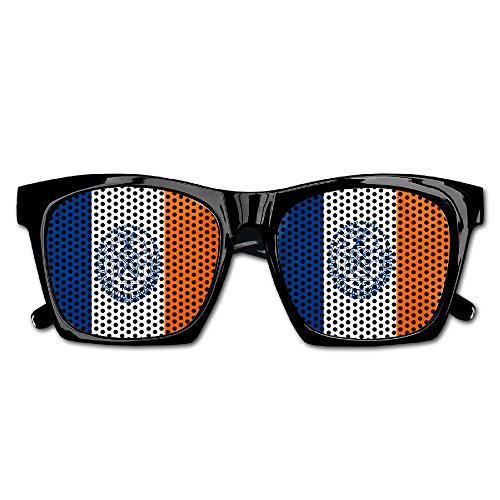 Elephant AN Themed Novelty Flag Of New York City Fashionable Visual Mesh Sunglasses Fun Props Party Favors Gift - York Eyeglasses New Stores