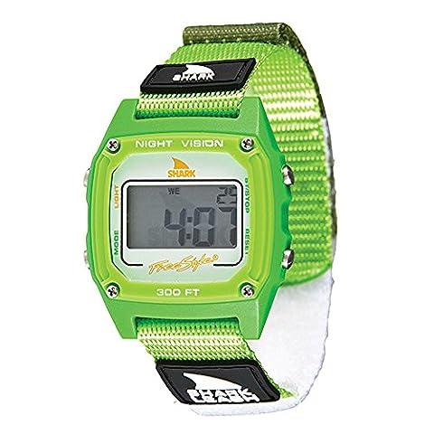 Freestyle USA Shark Leash Watch Green, One Size (Freestyle Shark Green Watch)