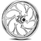 """RC Components Shifter Chrome 21"""" Front and Rear Wheel Package for 2009 & Newer Harley-Davidson Touring models with ABS brakes - RCWP-09ABS-SFTR"""