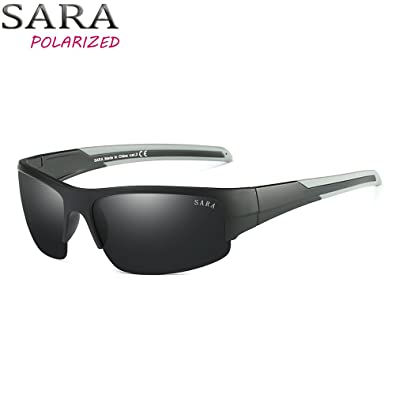 ee7c98ff126a7 SARA Polarized Sunglass Special Design Arm Fashion Suitable for Sports Ride  Bicycle Man and Woman.