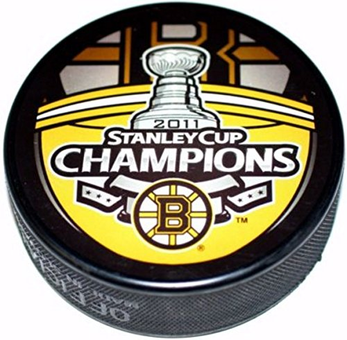 Sher-wood Stanley Cup Souvenir Hockey Puck - 2011 Bruins