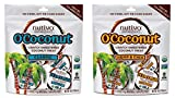 Nutiva O'Coconut Treats 2 Flavor Sampler Bundle, (1) each: Classic and Hemp Chia (4 Ounces) For Sale