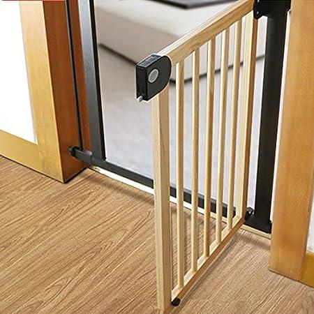 Huo Barrera de Seguridad para Escaleras Valla para Mascotas Protección de Barrera Extra Ancho Extensible Auto Cerrado (Size : 76-83cm): Amazon.es: Hogar