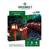 Papel Fotográfico A4 Glossy 230g Dupla Face Greenbelt 100 Folhas