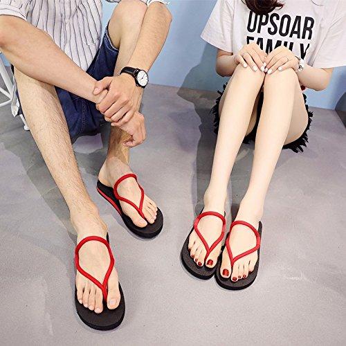 LIUXINDA-XZ Deutsche Mode Unten an der Ferse Ferse Ferse ist der Glatten Pantoffel. 025cae