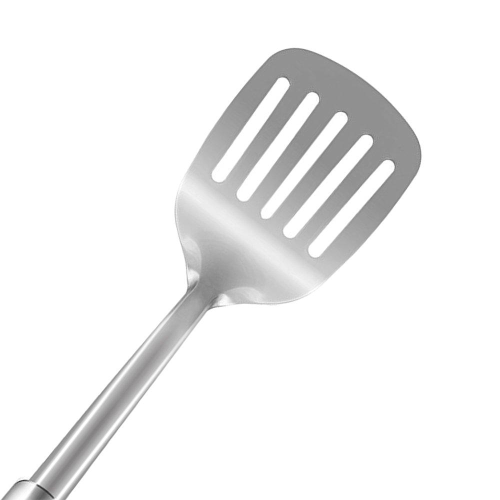 COKOSIM 7 Piezas Juego de Acero Inoxidable de Utensilios de Cocina (con Soporte)
