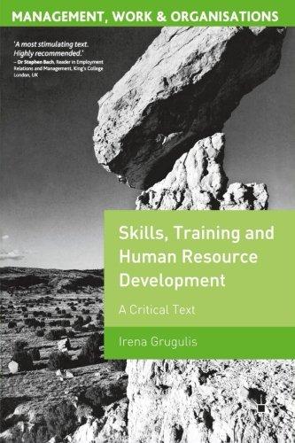 Skills, Training and Human Resource Development: A...
