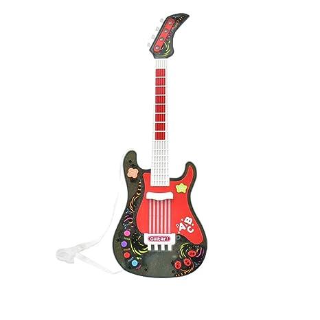 Tosbess Instrumento Musical de Juguete Guitarra Juguete Musical - Juguetes Musicales para niños Infantil Principiantes