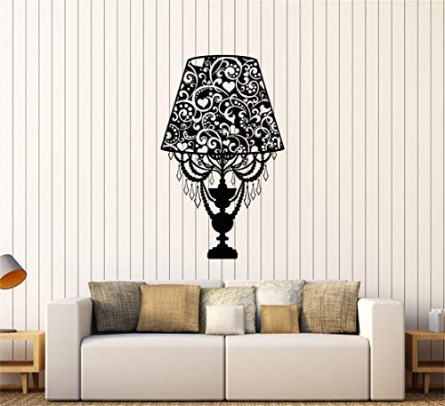 Tecvuy Removable Vinyl Decal Art Mural Home Decor Wall Stickers Lamp Lighting Pattern Home Room