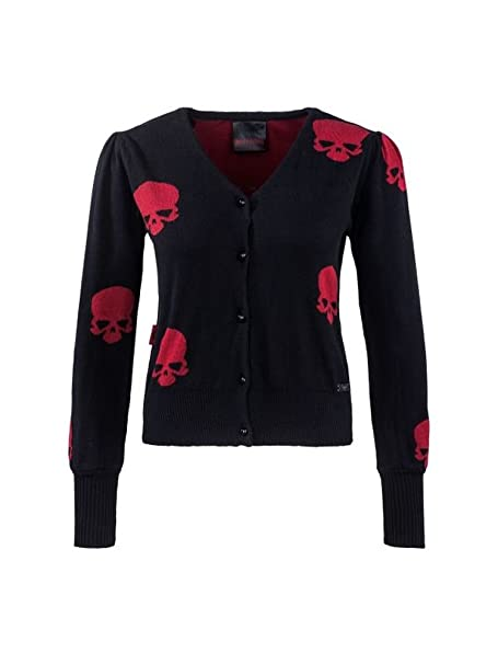 Queen of Darkness - Chaqueta - para mujer negro L/XL: Amazon ...