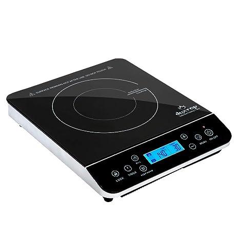 Secura Encimera quemador inducción portátil (LCD) 1800W 9600LS Negro