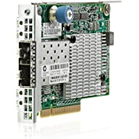 HP FlexFabric 534FLR-SFP+ - Network adapter - PCI Express 2.0 x8 - 10 Gigabit SFP+ x 2 - for ProLiant DL360p Gen8, DL380p Gen8, DL385p Gen8, DL560 Gen8, SL250s Gen8, SL270s Gen8