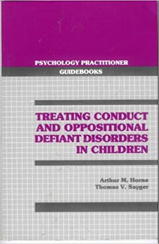 treating conduct and oppositional defiant disorders in children
