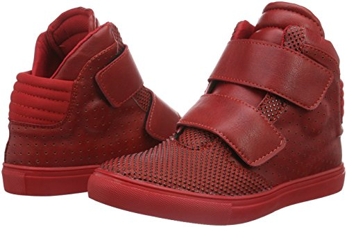 333 red Tamboga Rouge Basses 02 Mixte Adulte PwxZTqd