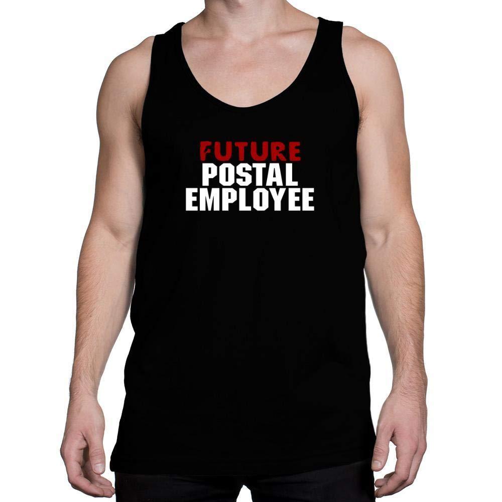 Idakoos Future Postal Employee Tank Top