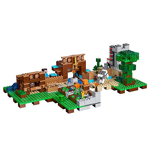51vdCImxvgL - LEGO Minecraft the Crafting Box 2.0 21135 Building Kit (717 Piece)