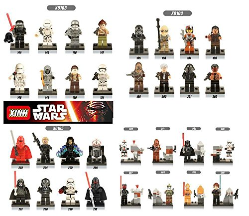 [JSM 32pcs/lot Star Wars Clone Trooper Minifigures Building blocks Bricks Toys kid] (Ewok Star Wars Costume)