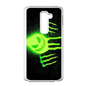 Protection Cover LG G2 White Phone Case Ixbrg Monster Energy Personalized Durable Cases