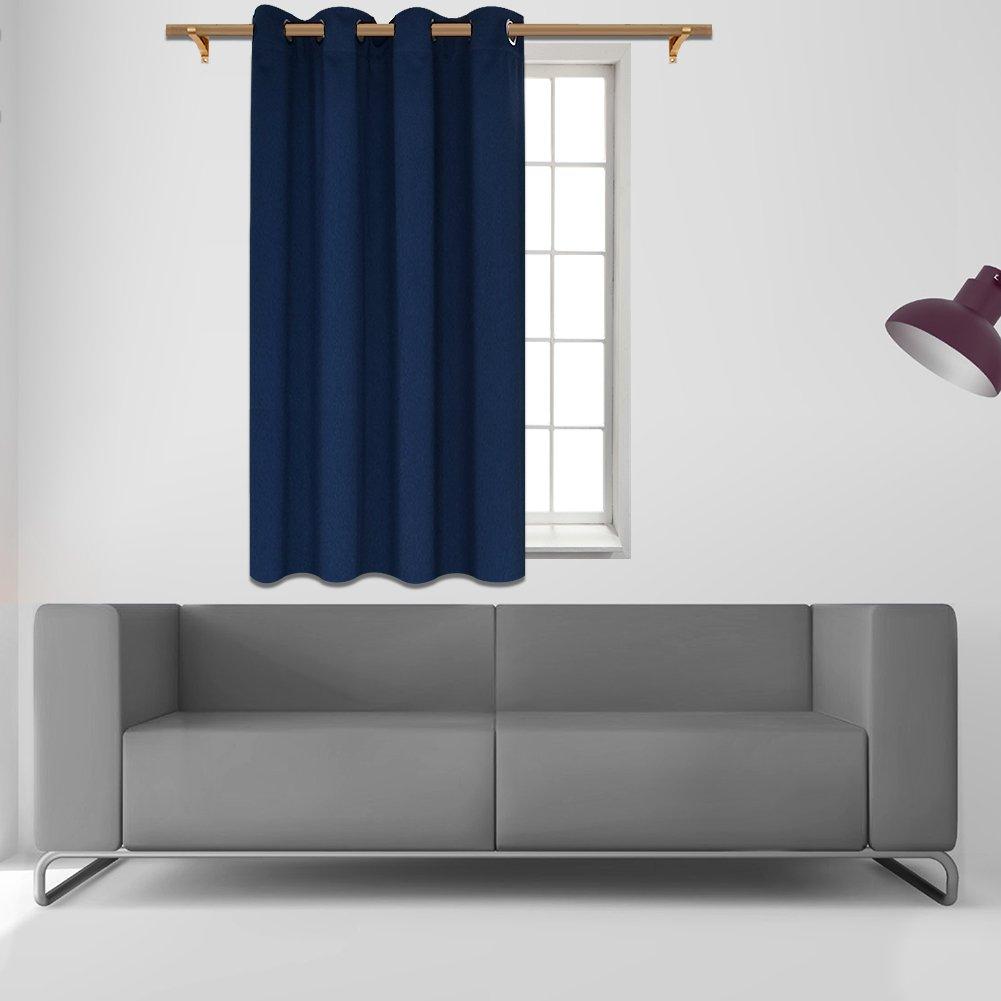 Amazon.com: SmilingHome Blackout Curtain/Drape with Solid ...
