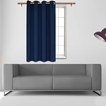 Amazon.com: SmilingHome Blackout Curtain/Drape with Solid ...