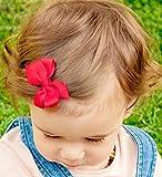 No Slippy Hair Clippy Baby-Girls Newborn Ava Two