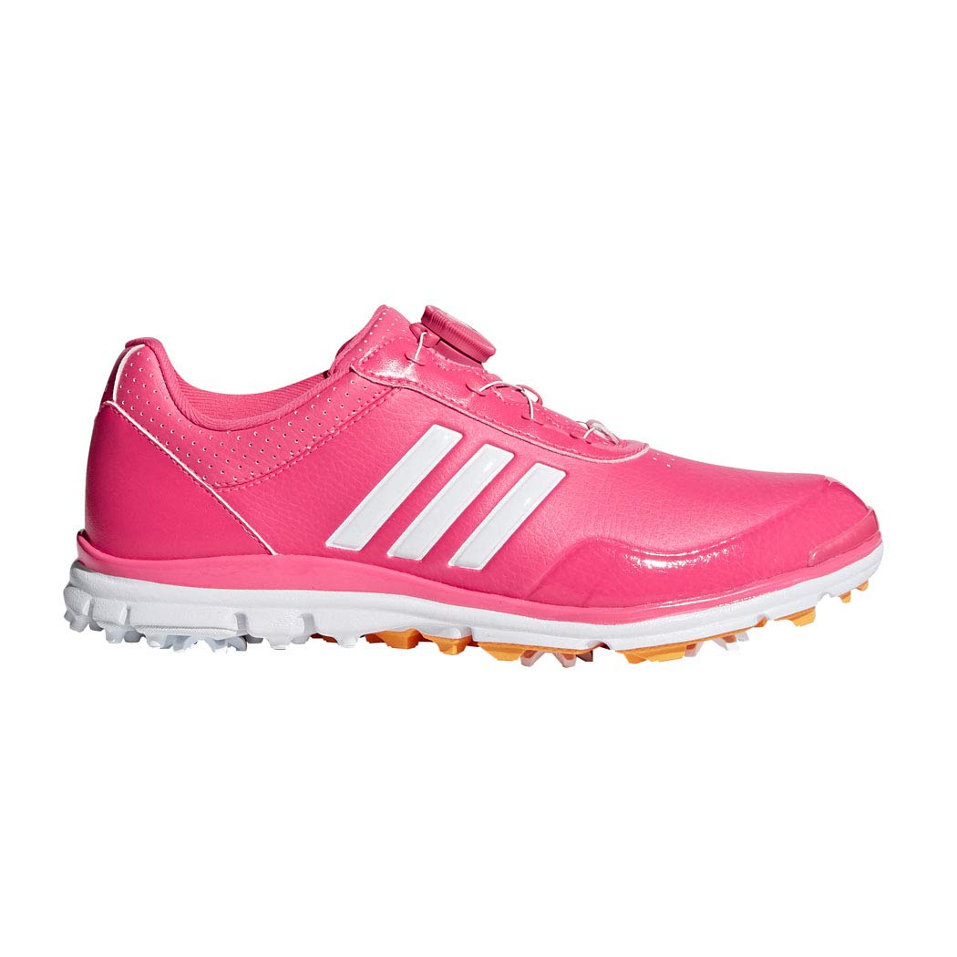 adidas Women's Adistar Lite BOA Golf Shoe, Real Pink/White/Real Gold, 10 M US by adidas