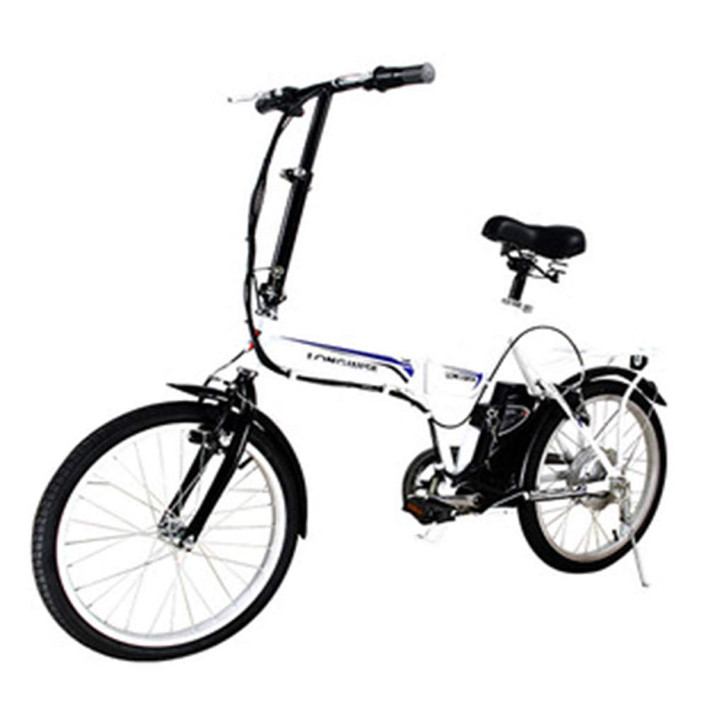 Ambm Ciclomotore da Bicicletta Elettrica A Batteria al Litio 20 in Portatile E Pieghevole