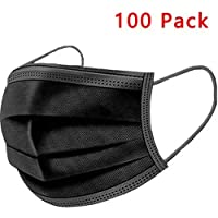 100pcs Wearable Indoors and Outdoors(Black)