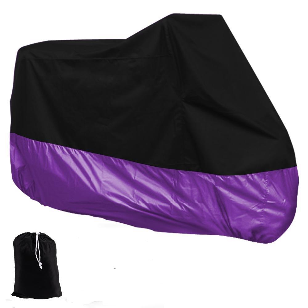 HOUSSE BACHE MOTO Couvre-Moto velo VTT scooter Taille XXL 270cm violet noir protection