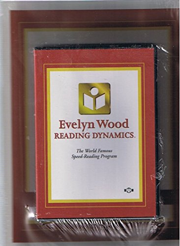 Evelyn Wood Reading Dynamics: Video/DVD Workbook and DVD
