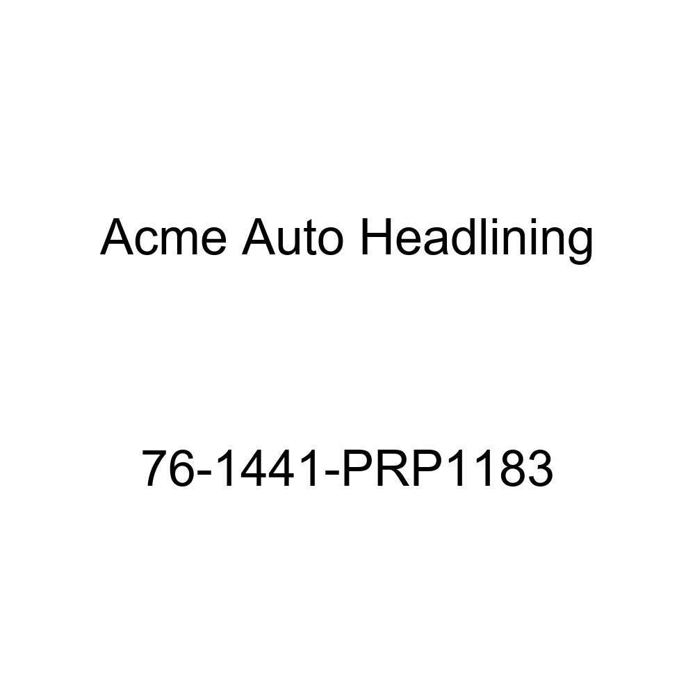 1976 Chevrolet Laguna and Malibu 2 Door Hardtop 5 Bow Acme Auto Headlining 76-1441-PRP1183 Dark Blue Replacement Headliner