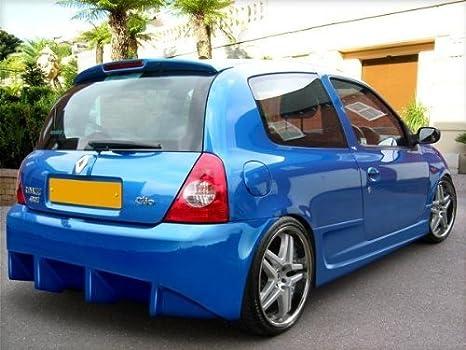 Renault Clio MK2 Rendimiento deportivo Rear Bumper 1998 - 2006: Amazon.es: Coche y moto