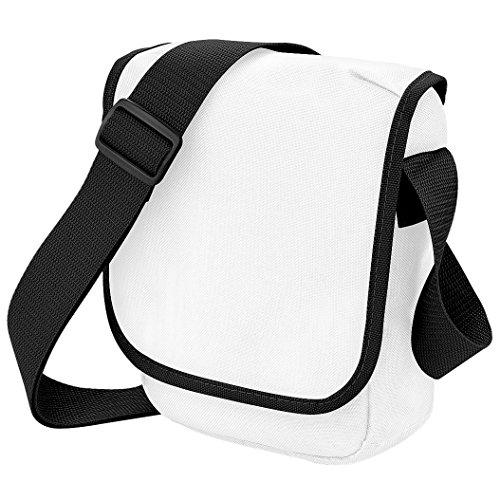 negro 2 Bolso bandolera ltiros blanco mini Bagbase wqtY7xpFp