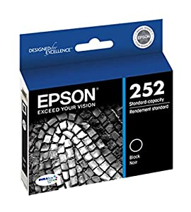 Epson 252 DURABrite Ultra Black Ink Cartridge