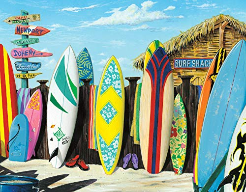 Desperate Enterprises Westmoreland - Surf Shack Tin Sign, 16