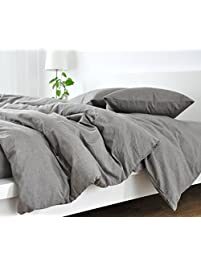 handmade medium grey duvet cover - Comforter Covers