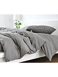 handmade medium grey duvet - Comforter Covers