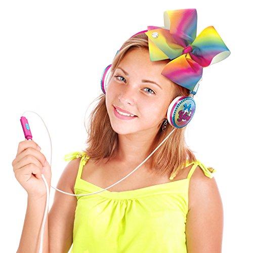 JoJo Siwa Bow Fashion Headphones with built in Microphone by eKids (Image #5)