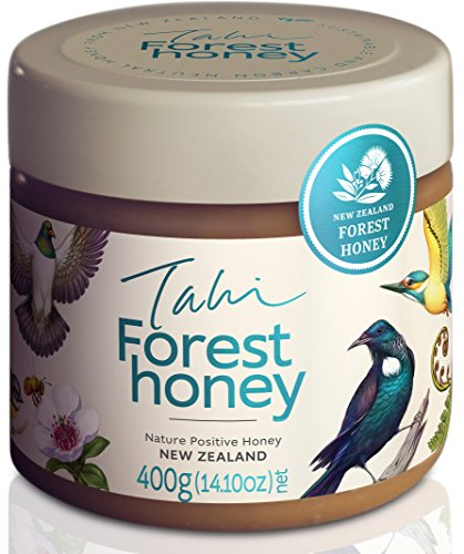 New Zealand Forest Honey eco-friendly, raw and pure 400gram (14.1oz) by - Forest Wild Honey