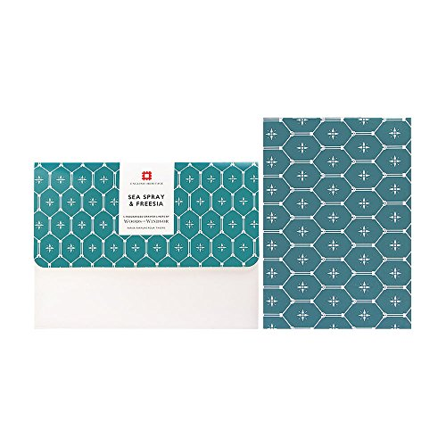 Inspired Drawer Five - Sea Spray & Freesia By Woods of Windsor 5 Fragranced Drawer Liners