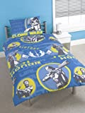 Star Wars Jedi Rotary Single Bed Duvet Quilt Cover Set
