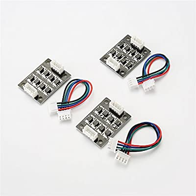 Yowming 3pcs TL Smoother Addon Module for Pattern Elimination Motor Clipping Filter 3D Printer Stepper Motor Drivers