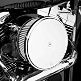 Arlen Ness 18-818 Chrome Big Sucker Stage II Air Filter Kit with Cover