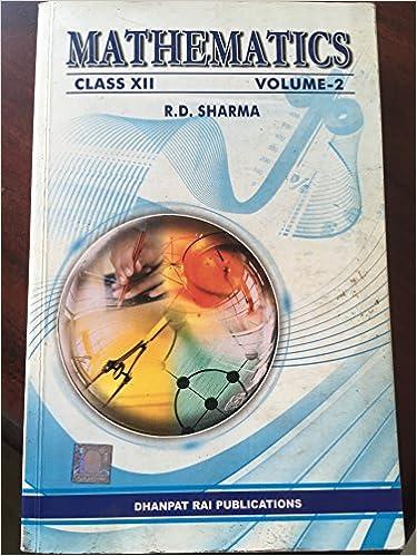 Solution Of Rd Sharma Class 12 Pdf